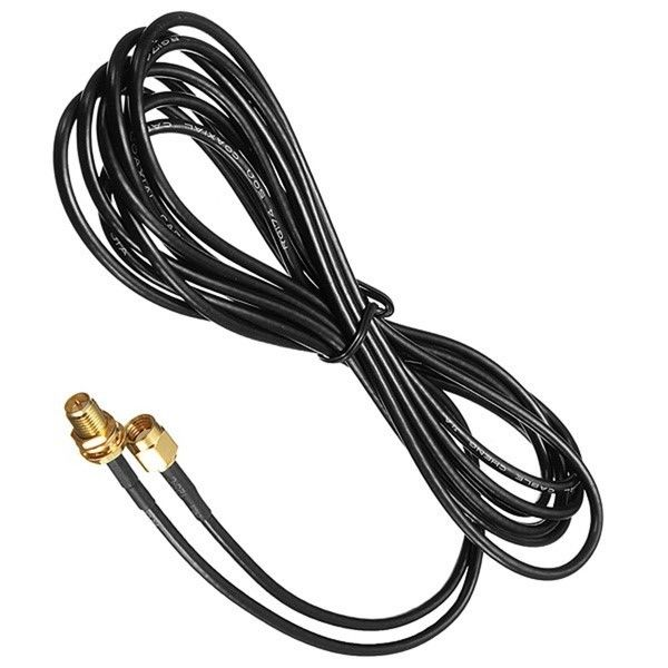 Extension Low Loss RF Cable And Connector RP-SMA Female RP-SMA Male RG174