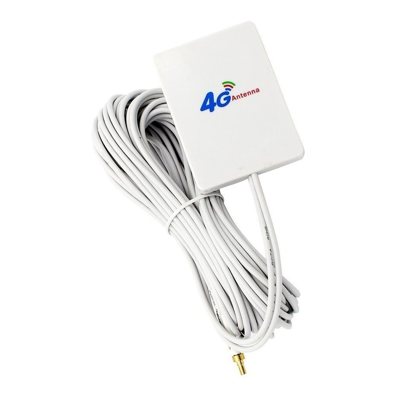 800Mhz to 2700MHz range 4G LTE Antenna SMA Dual Connector High Gain 15dbi Length 200mm